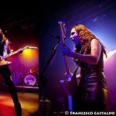 7 ottobre 2012 - Magazzini Generali - Milano - Halestorm in concerto