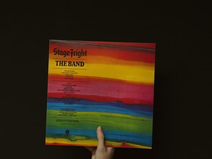 """The Band, la storia di """"Stage fright"""" in vinile"""