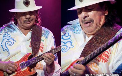 26 luglio 2013 - Ippodromo del Galoppo - Milano - Carlos Santana in concerto