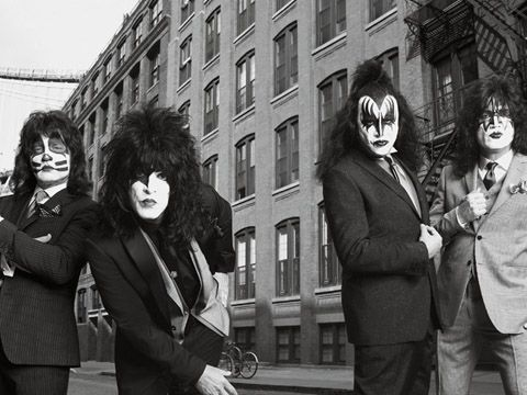 I Kiss nella nuova campagna del marchio John Varvatos