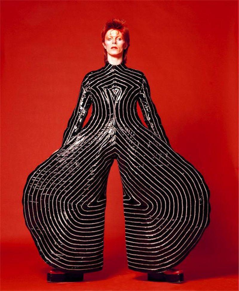 La leggenda di David Bowie in cento scatti