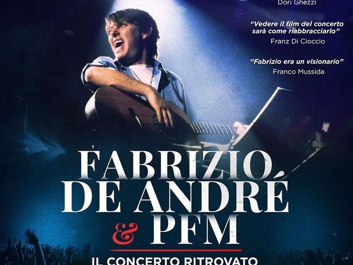 Fabrizio De André e PFM, il 'Concerto ritrovato': annullata la replica dell'11 marzo
