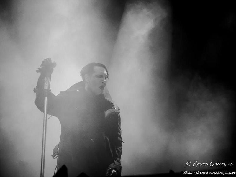 25 luglio 2017 - Ippodromo delle Capannelle - Roma - Marilyn Manson in concerto
