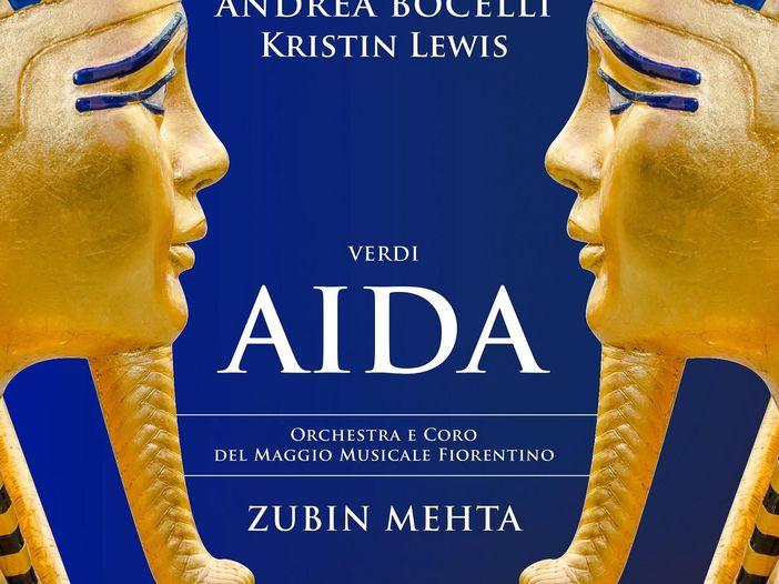 Andrea Bocelli è Radamès: esce in tutto il mondo 'Aida'