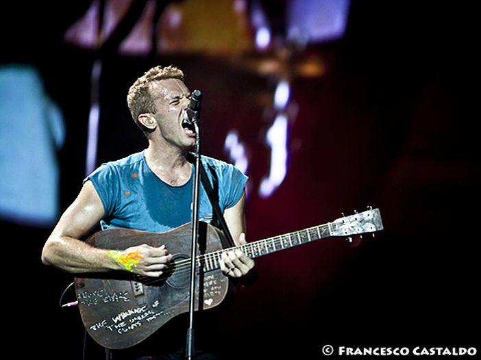 Chris Martin (Coldplay) in tre episodi di 'The voice US'
