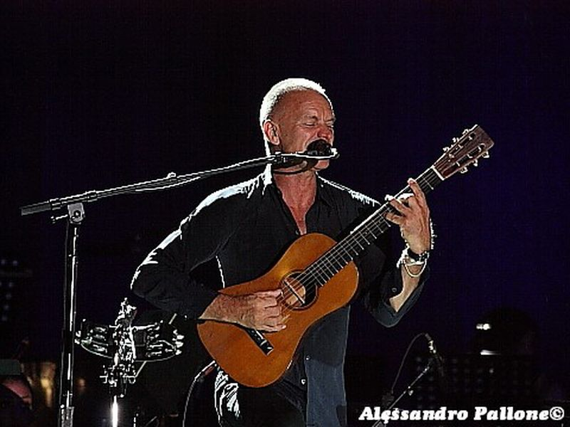 31 Luglio 2011 - Piazza della Loggia - Brescia - Sting in concerto