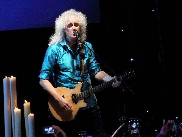 Brian May come non l'avete mai visto - FOTO