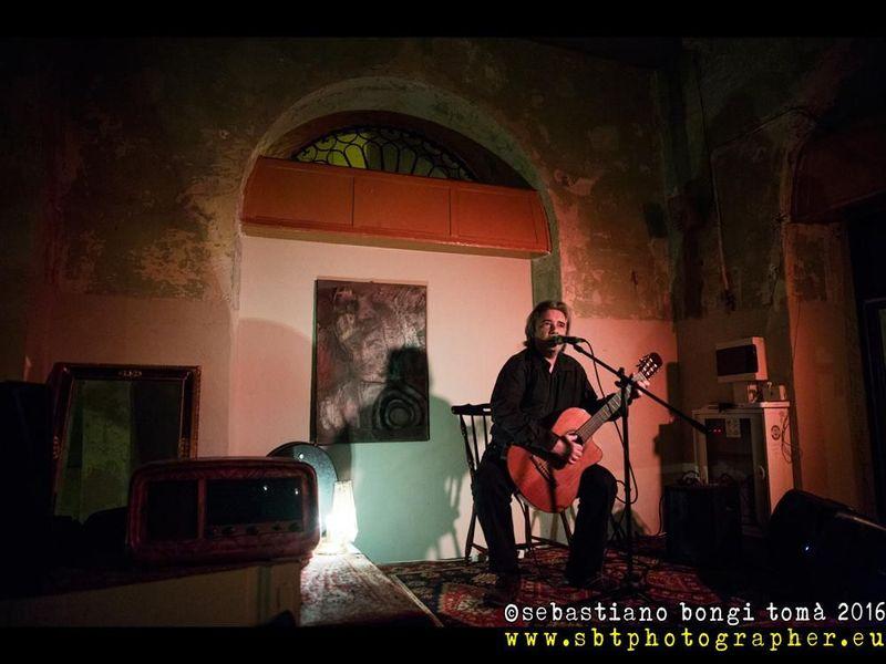 3 novembre 2016 - Frame Live Club - La Spezia - Max Manfredi in concerto