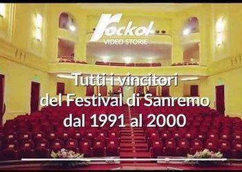 Tutti i vincitori del Festival di Sanremo dal 1991 al 2000