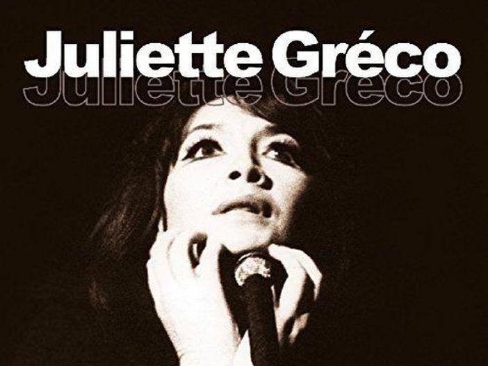 È morta la cantante francese Juliette Gréco