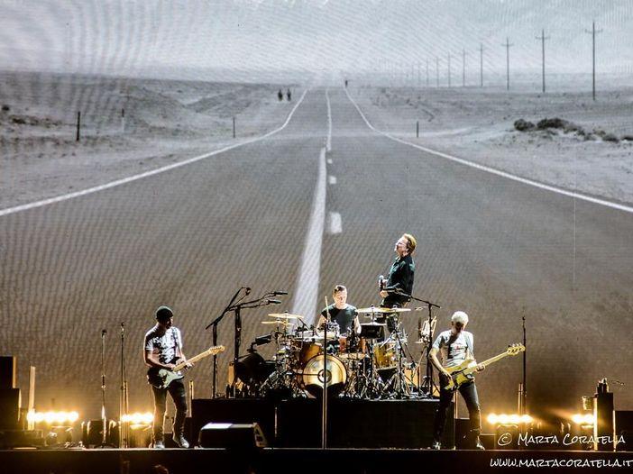 U2: i video del primo concerto allo stadio Olimpico di Roma - GUARDA