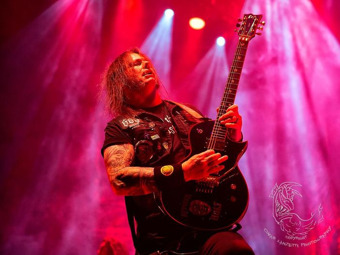 Slayer: le foto di Gary Holt del concerto d'addio. Guarda