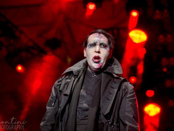 Marilyn Manson, prime notizie dopo l'incidente: rinviate nove date del tour