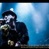 17 dicembre 2016 - The Cage Theatre - Livorno - Scarlet and the Spooky Spiders in concerto
