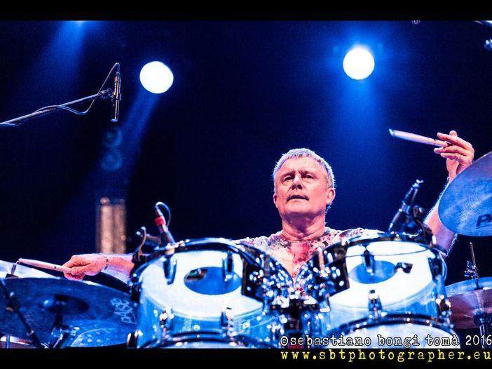 Carl Palmer, uno dei migliori percussionisti del mondo