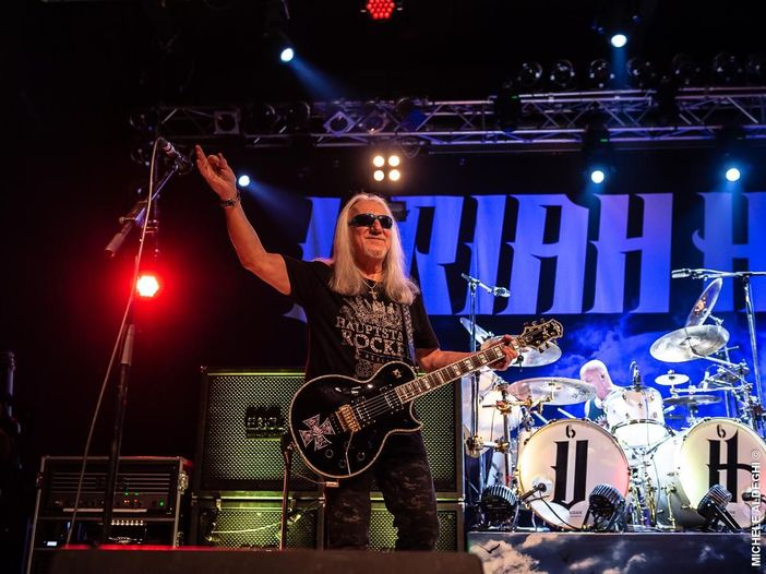 Gli Uriah Heep celebrano i 40 anni con una raccolta e un live
