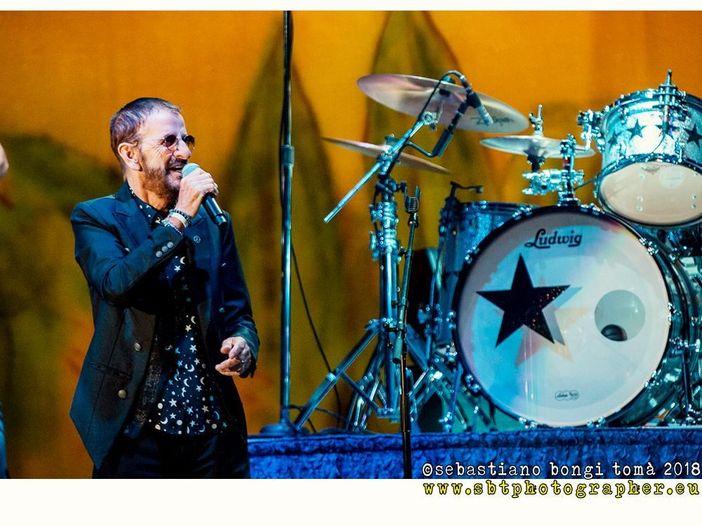 Ringo Starr, nuovo giocattolo per la batteria...