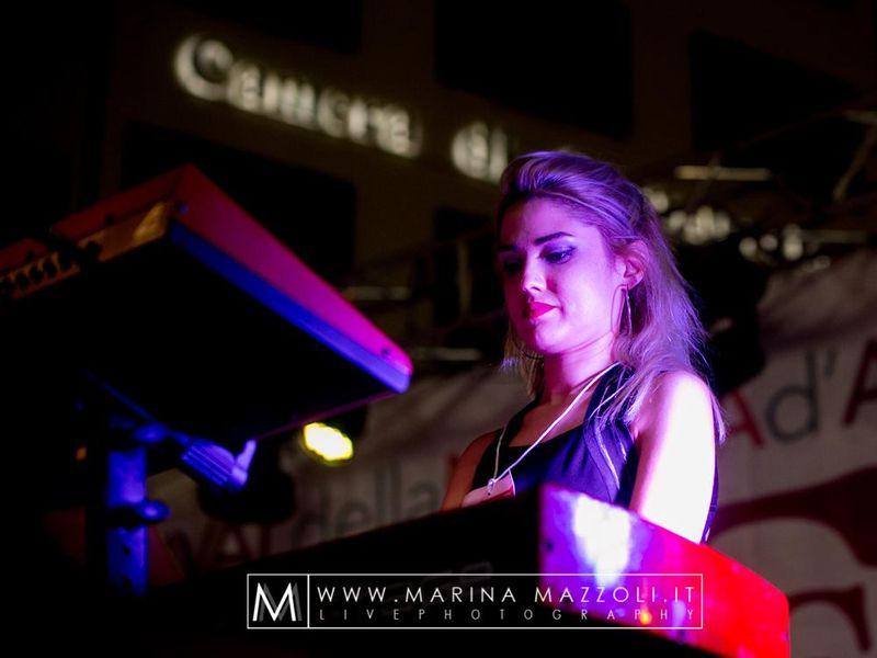 25 giugno 2017 - Lilith Festival - Genova - Angela Baraldi in concerto