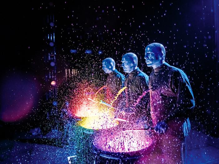 Blue Man Group, a novembre la prima italiana: qualche immagine per farvi un'idea del progetto - GUARDA