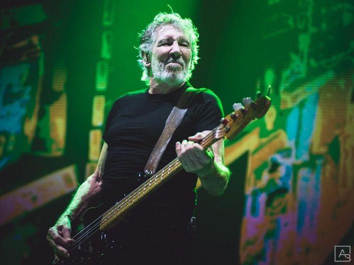 Roger Waters in studio per le prove del nuovo tour. Foto