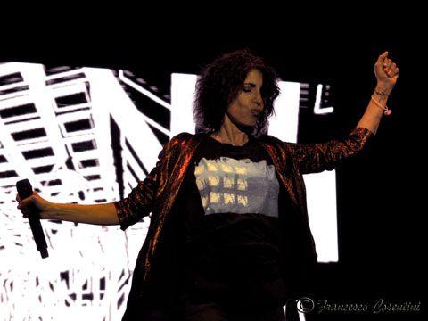 22 luglio 2014 - Stadio Troisi - Giffoni Valle Piana (Sa) - Giorgia in concerto