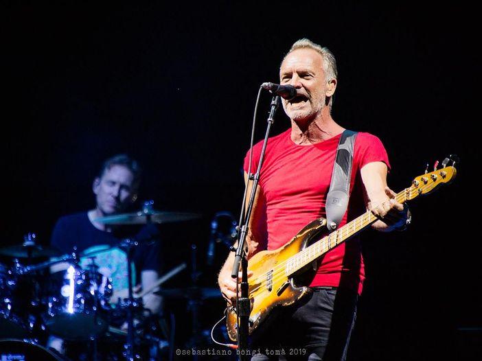 """Sting, una nuova versione di """"Don't stand so close to me"""""""