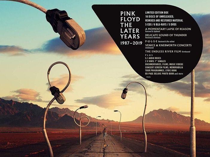 """Pink Floyd, la guida ai contenuti di video """"The Later Years"""""""