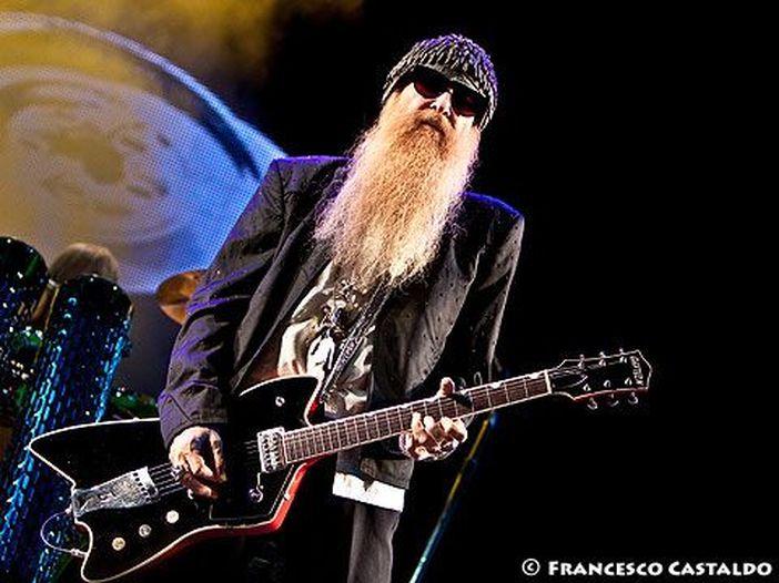 Billy Gibbons, la barba più lunga degli ZZ Top