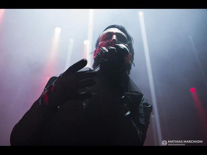 "Marilyn Manson ""insegue la morte"" fra Tarantino e The Walking Dead"