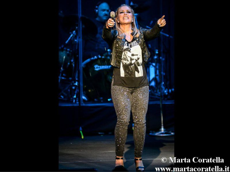 22 luglio 2015 - Auditorium Parco della Musica - Roma - Anastacia in concerto
