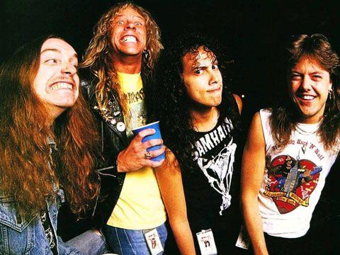 Metallica old school