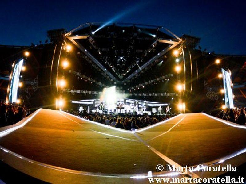 26 giugno 2014 - Stadio Olimpico - Roma - Vasco Rossi in concerto