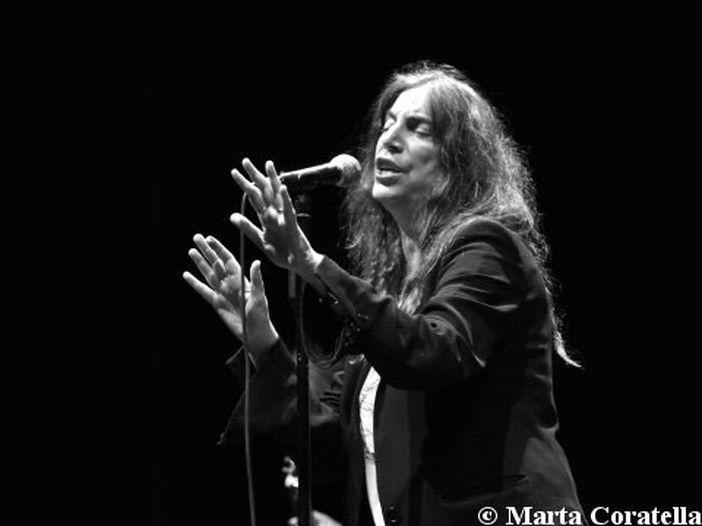 Concerti, Patti Smith: per la prima volta live in Italia con tutta la famiglia