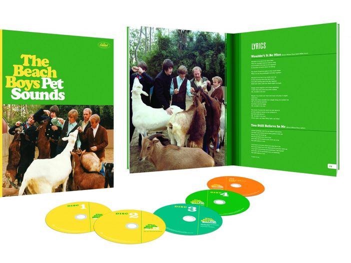 Beach Boys, esce il 10 giugno l'edizione speciale di 'Pet sounds' per il cinquantesimo anniversario - TRACKLIST