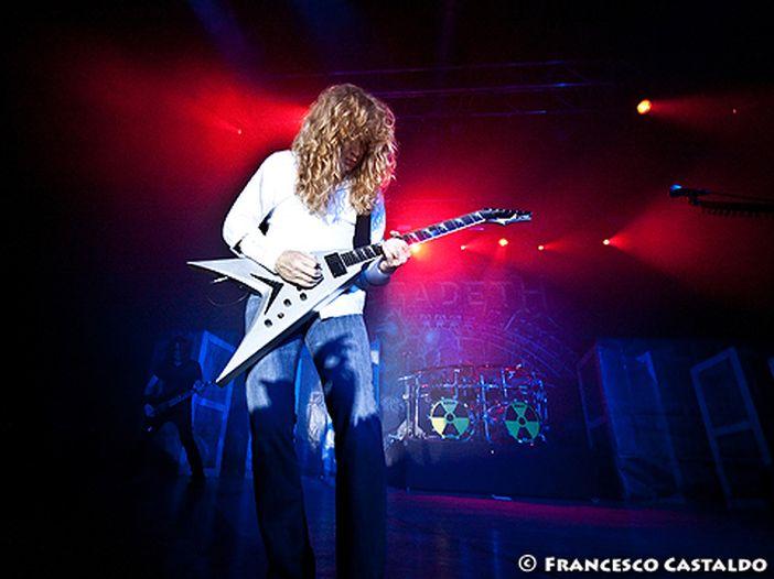 I Megadeth in studio a gennaio 2015, parola di Mustaine