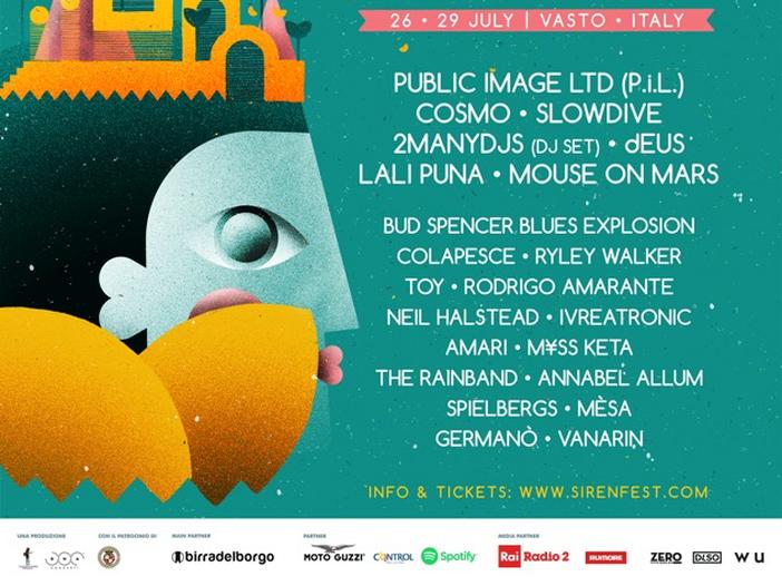 Siren Festival 2018, ecco il cast completo. Tra gli altri Public Image Ltd., Cosmo, dEUS