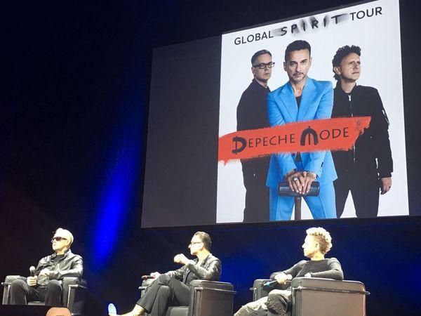 Depeche Mode in conferenza stampa a Milano per il nuovo album e il nuovo tour 'Global Spirit' (a Roma, Milano e Bologna). LA DIRETTA