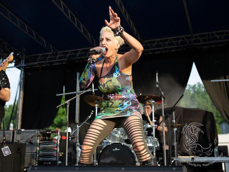 15 giugno 2019 - Langhe Rock Festival - Santo Stefano Belbo (Cn) - Aetherna in concerto