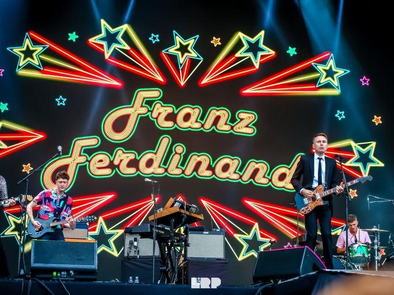 8 agosto 2019 - Sziget Festival - Budapest - Franz Ferdinand in concerto