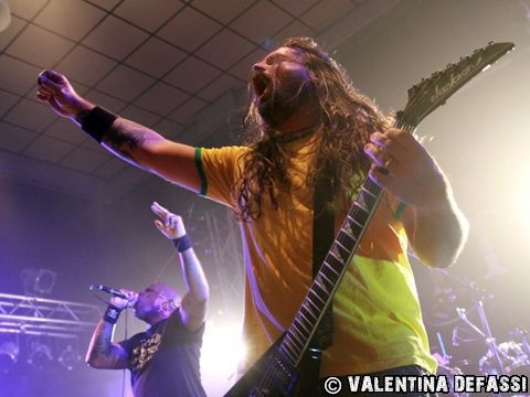 3 giugno 2014 - AudioDrome - Moncalieri (To) - Sepultura in concerto