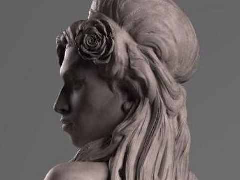 Amy Winehouse statua