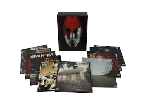 Eminem box set vinile