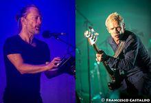 Thom Yorke e Flea suonano alla tv francese 'Atoms for peace' - VIDEO