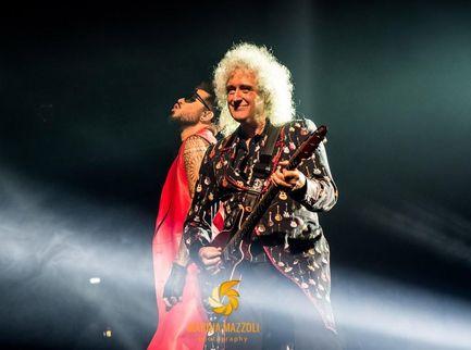 Brian May rivela che i Queen e Adam Lambert hanno lavorato a nuova musica