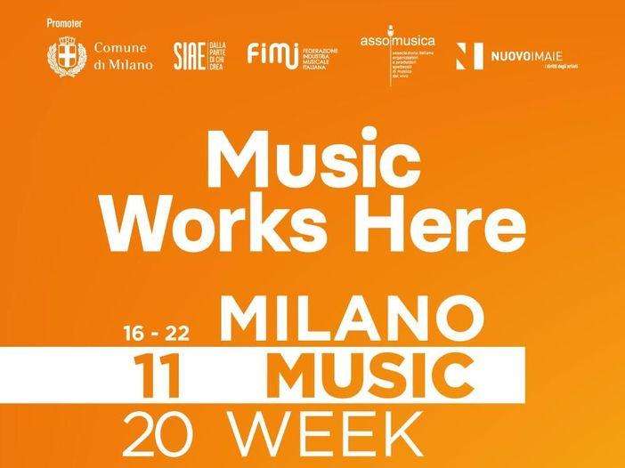 Milano Music Week 2020: 'Music Works Here'