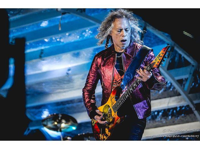 La chitarra di Kirk Hammett vale 112.000 dollari