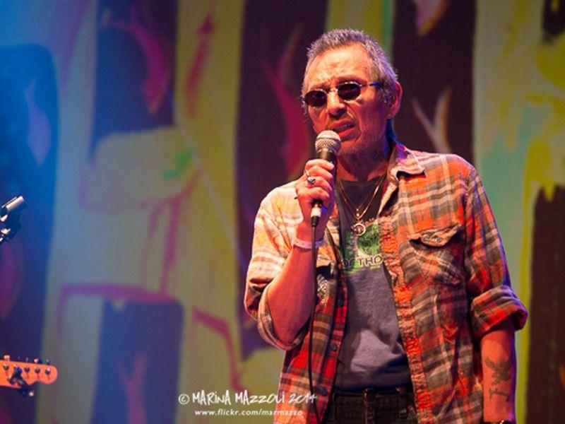 4 ottobre 2014 - Club Tenco - Teatro del Casinò - Sanremo (Im) - John Trudell in concerto