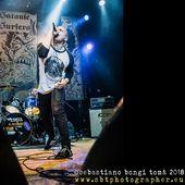 30 marzo 2018 - The Cage Theatre - Livorno - Satanic Surfers in concerto