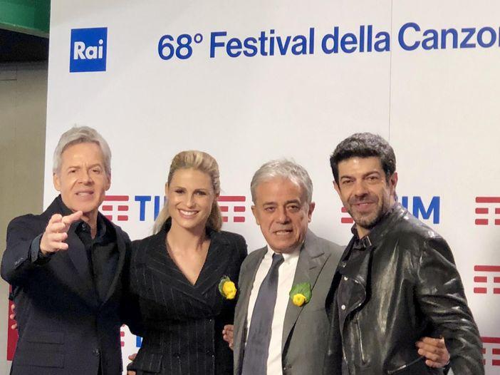 Sanremo 2018, la conferenza stampa di mercoledì 7 febbraio