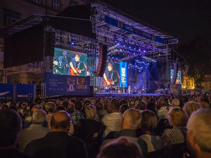 Concerti e riaperture: al Lucca Summer Festival show da 6 mila spettatori